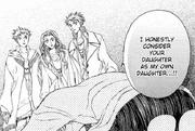 Tamaki proclaiming his 'love'
