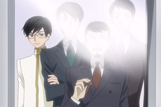 The ootori boys with their father