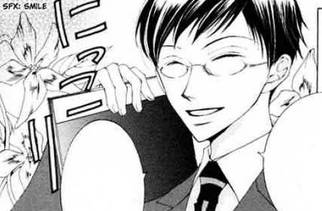 File:Kyoya asking haruhi if she have a passport - chapter 1.png