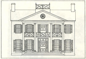 Asa Wolverton house sketch