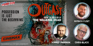 Robert Kirkman, Chris Black, and Patrick Fugit - Outcast NYCC 2015