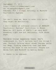 Whistleblower Document