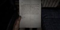 Ethan's Letter