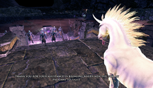 Sparkle meeting the Nether elves