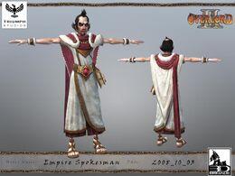 Empire Spokesman CG Model