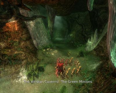 The Viridian Caverns