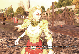 Lady Clarrisa in Summervale
