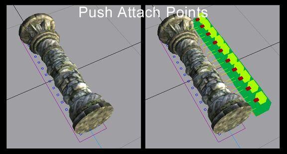 OL Push Attach Points