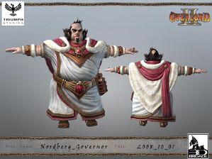 Nordberg Governor CG Model