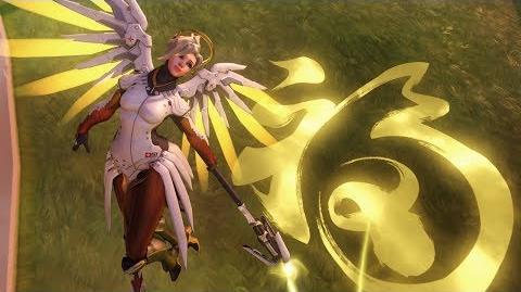 Overwatch Mercy highlight intro - Fortune