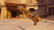 Pharah securitychief golden rocketlauncher