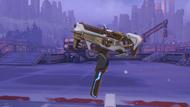 Sombra cyberspace golden machinepistol