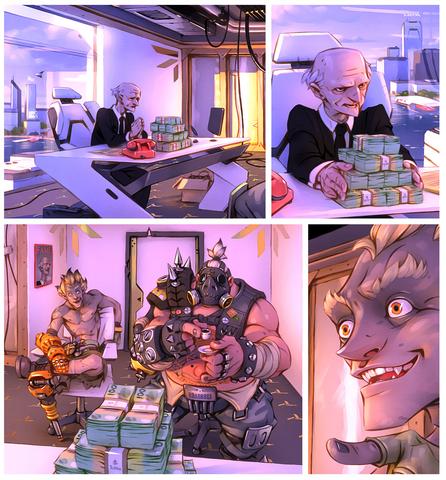File:Digital Comic Short - Roadhog, Junkrat.png
