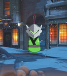 Winter Wonderland - Genji - Ornament spray