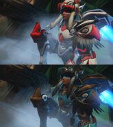 Pharah (Raindancer & Thunderbird skin) screenshot