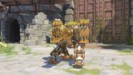 Bastion overgrown golden sentry