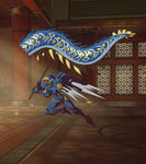 Pharah - Dragon Dance spray