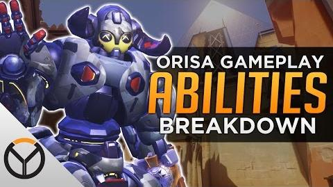 Overwatch Orisa Gameplay and Ability Breakdown!
