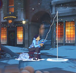 Winter Wonderland - Pharah - Ice Fishing spray