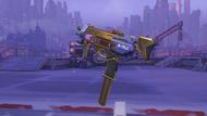 Sombra classic golden machinepistol