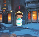 Winter Wonderland - Pharah - Ornament spray