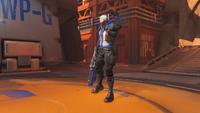 Soldier76 fistpump