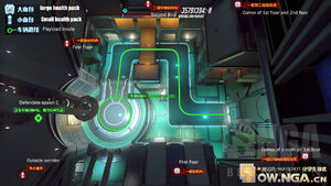 Dorado overhead map 2