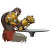 Doomspray wrestle
