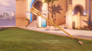 Mercy sigrún golden caduceusstaff