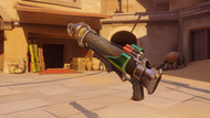 Pharah emerald rocketlauncher