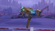 Sombra mar golden machinepistol