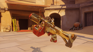 Junkrat firework golden fraglauncher
