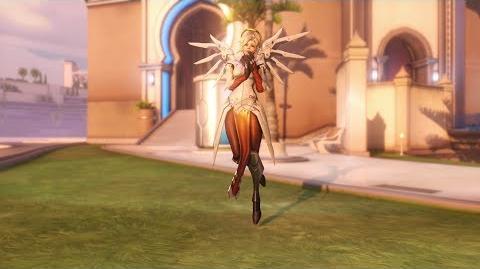 Overwatch Mercy emote - Applause