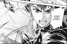Kureto Ready to fight Tenri