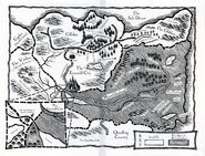 A lion among men map