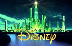 Disney Emerald City Logo Still