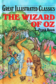 File:The Wizard of Oz book cover (Great Illustrated Classics).jpg