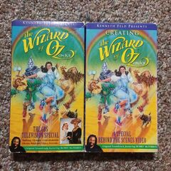 <b>VHS Tapes Of The Wizard Of Oz: On Ice Television Broadcast / Creating The Wizard Of Oz: On Ice</b>