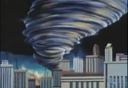 1 - Tornado in the city of Metropolis