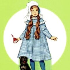 Dorothy Gale in Silver Shoes, as she appeared in the original <i>The Wonderful Wizard of Oz</i> book of 1900