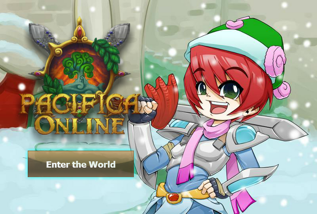 File:Pacifica Online - Login Screen - Christmas 2013 Knight.png