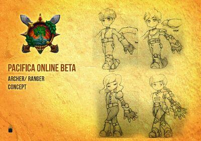 Pacifica Online-Archer Concept Art