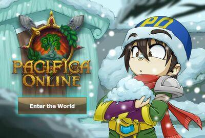 Pacifica Online - Login Screen - Christmas 2013 Ranger