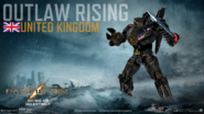 033. Outlaw Rising - United Kingdom