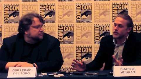 Pacific Rim Interview- Guillermo del Toro, Charlie Hunnam, Ron Perlman