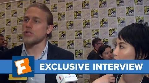 Charlie Hunnam and Rinko Kikuchi Exclusive Interview Comic Con FandangoMovies