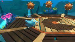 Pac-ManUnderwater