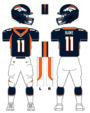 Broncos alternate uniform
