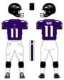 Ravens color uniform