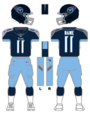 Titans color uniform